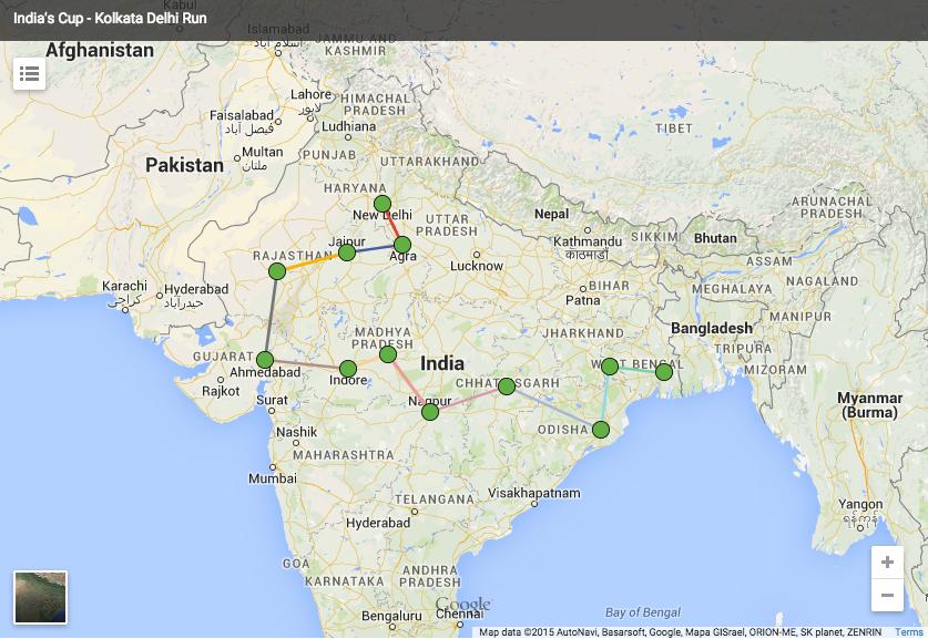Kolkata to Delhi